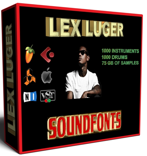 Product picture Lex Luger Soundfonts Instruments and Drum Kits SF2